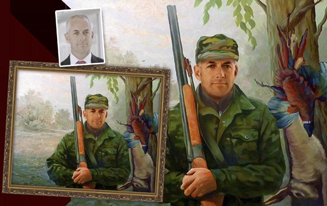 портрет по фотографии, мужской портрет