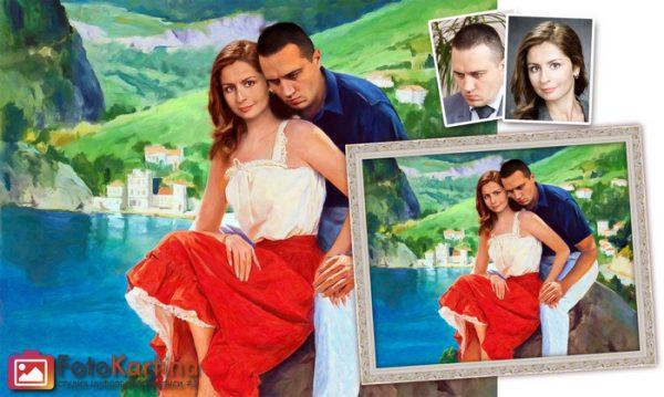 Портрет по фото в романтическом образе #7