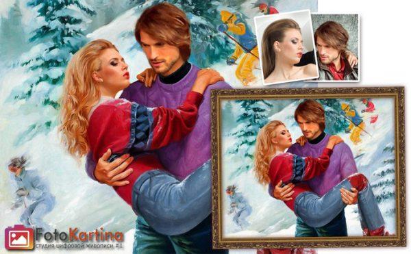 Портрет по фото в романтическом образе #8