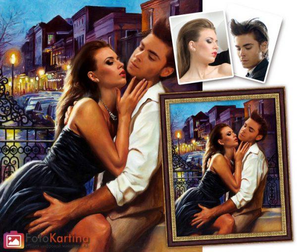 Портрет по фото в романтическом образе #9
