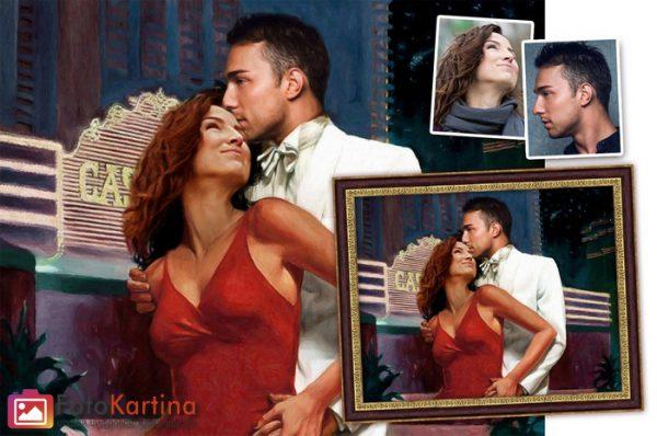 Портрет по фото в романтическом образе #11