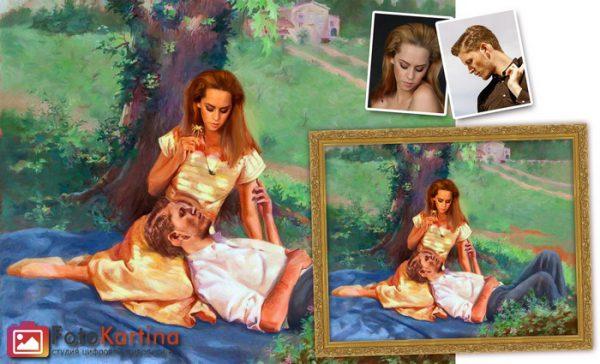 Портрет по фото в романтическом образе #15